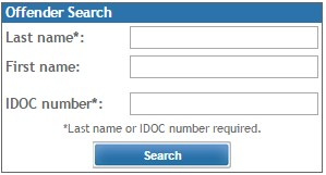 IDOC Inmate Search