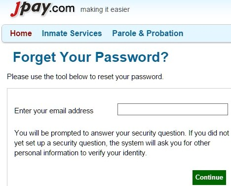jpay-forgot-password