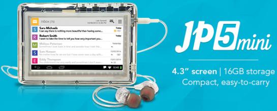 JP5mini tablet