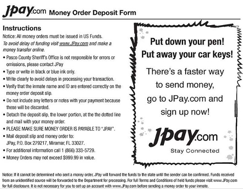 photograph relating to Printable Money Order referred to as JPay Printable Varieties JPay Login